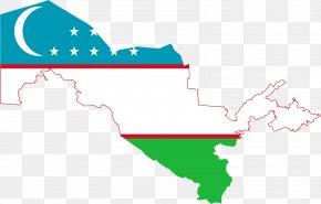 Iraq - Flag Of Uzbekistan Uzbek Soviet Socialist Republic Map PNG