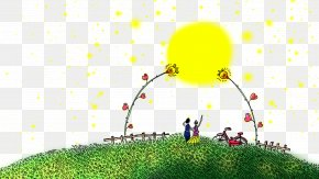 Creative Valentine's Day - Valentine's Day Qixi Festival Illustration PNG