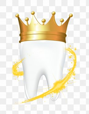Teeth Wear Crown - Gold Crown Stock Photography Royalty-free PNG