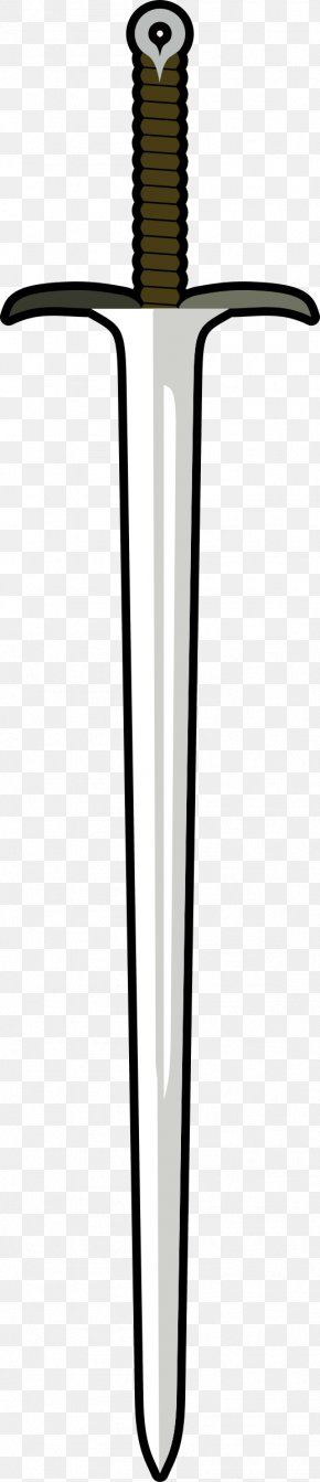 Sword - Knightly Sword Weapon Clip Art PNG