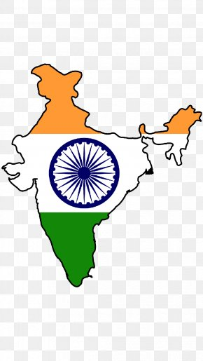 India Map - Flag Of India Map National Flag PNG