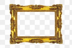 Gold Frame - Picture Frame Photography Film Frame PNG