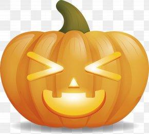 Squash With Eyes - Jack-o'-lantern Eye Calabaza Pumpkin PNG