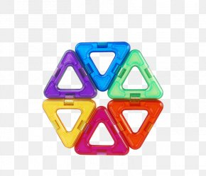 Triangle Splicing Magnet Film Material - Toy Block Neodymium Magnet Toys Amazon.com PNG