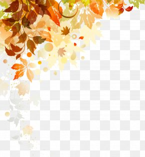 Autumn Leaves Shading - The Four Seasons Spring Illustration PNG
