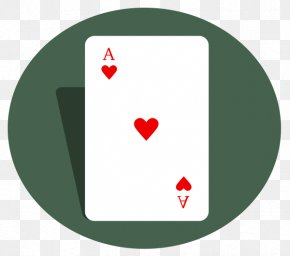 Ace - Ace Of Hearts Playing Card Clip Art PNG