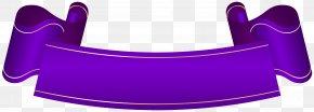 Purple Banner Cliparts - Web Banner Clip Art PNG