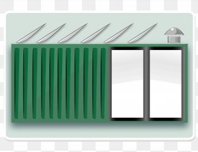 Container - Shipping Container Architecture Intermodal Container House Building PNG