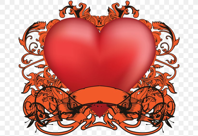 Valentine's Day Organism Heart Clip Art, PNG, 670x563px, Watercolor, Cartoon, Flower, Frame, Heart Download Free