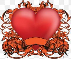 Valentine's Day - Valentine's Day Organism Heart Clip Art PNG