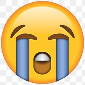 Sad Emoji Pic - Face With Tears Of Joy Emoji Crying Laughter Sticker PNG