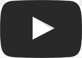 Youtube Play Button - YouTube Black And White Clip Art PNG