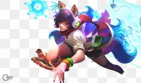 League Of Legends - League Of Legends Ahri Arcade Game Amusement Arcade Riot Games PNG
