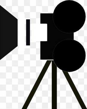 Movie Camera Icon - Photographic Film Movie Camera Clip Art PNG