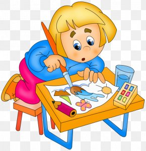 Child - Drawing Child Painting Clip Art PNG