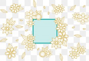 Vector Hand-painted Floral Decorative Pattern - Euclidean Vector Flower Floral Design PNG