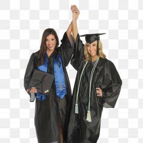 Graduation Ceremony - Graduation Ceremony Graduate University Academic Stole Honor Cords Delta Delta Delta PNG