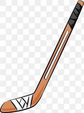 Hockey Sticks Clipart - Ice Hockey Stick Field Hockey Stick Clip Art PNG
