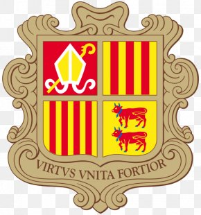 Andorra Frame - Coat Of Arms Of Andorra National Coat Of Arms Flag Of Andorra PNG