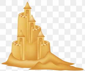 Sand Castle Clipart Picture - Sandcastle Waterpark Icon Clip Art PNG