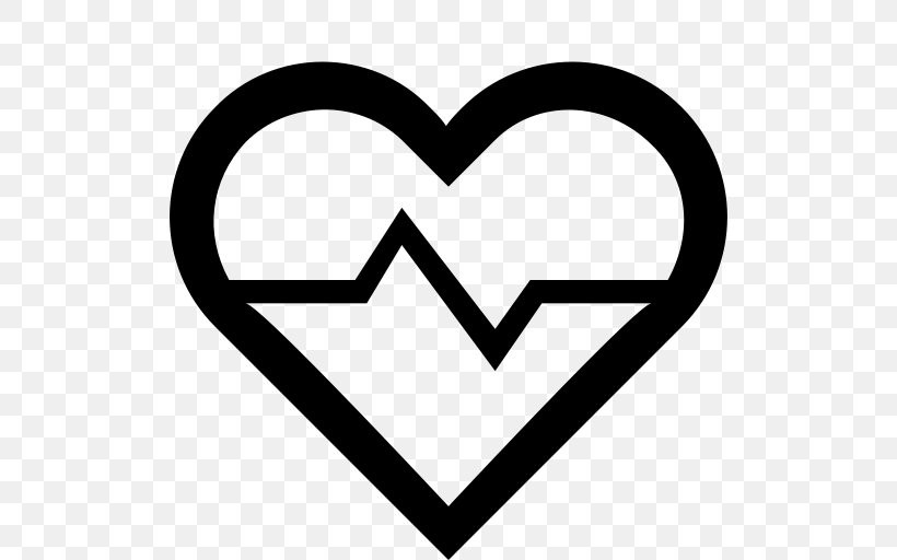 Heart Rate Pulse Long Island Apothecary, PNG, 512x512px, Heart, Area, Black And White, Electrocardiography, Health Download Free