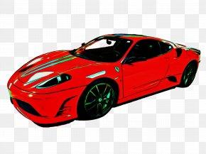 Race Car Ferrari F430 Challenge - Land Vehicle Vehicle Car Supercar Sports Car PNG