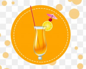 Fruit Juice - Text Yellow Clip Art PNG
