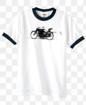 Ringer T-shirt - Ringer T-shirt Sleeve Top PNG