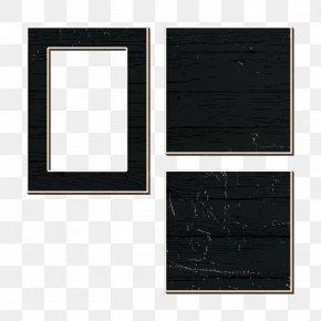 Picture Frame Room - Background Black Frame PNG