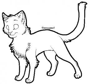 Cat Line Art - Cat Line Art DeviantArt Kitten Clip Art PNG