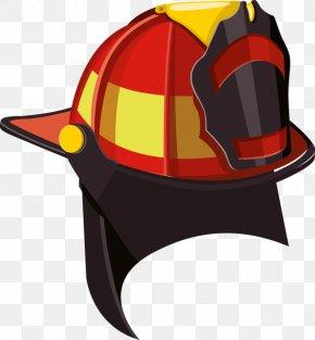 Red Helmet - Helmet Cdr Clip Art PNG