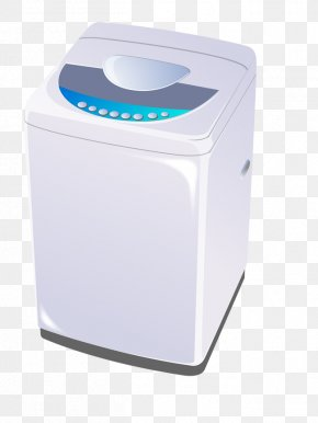 Vector Washing Machine - Washing Machine Clothes Iron Laundry Home Appliance PNG