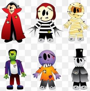 Halloween Transparent Creepy Collection - Halloween Costume New York's Village Halloween Parade Clip Art PNG