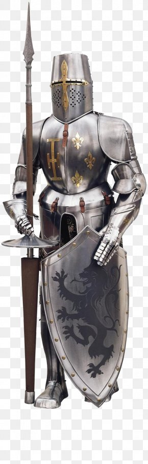 Medival Knight - Knight Crusader Crusades Middle Ages Plate Armour PNG
