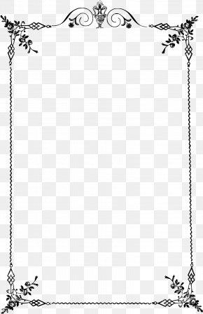 Elegant Frame - Borders And Frames Classic Clip Art Clip Art PNG