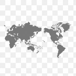 Creative World Map - Globe World Map PNG