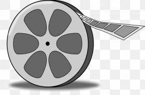 Movie Cliparts - Filmstrip Reel Clip Art PNG