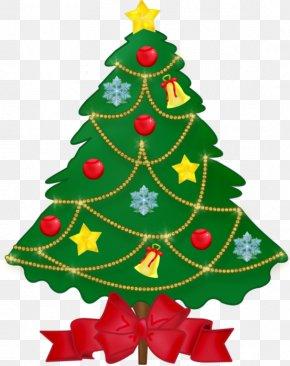 Christmas Tree - Christmas Tree New Year Ded Moroz Santa Claus Christmas Ornament PNG
