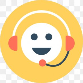 Smiley - Smiley Customer Service Representative PNG