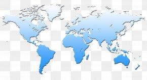 World Map - World Map United States Globe PNG