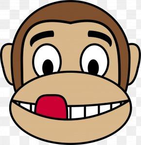 Faces - Ape Gorilla Mandrill Monkey Chimpanzee PNG