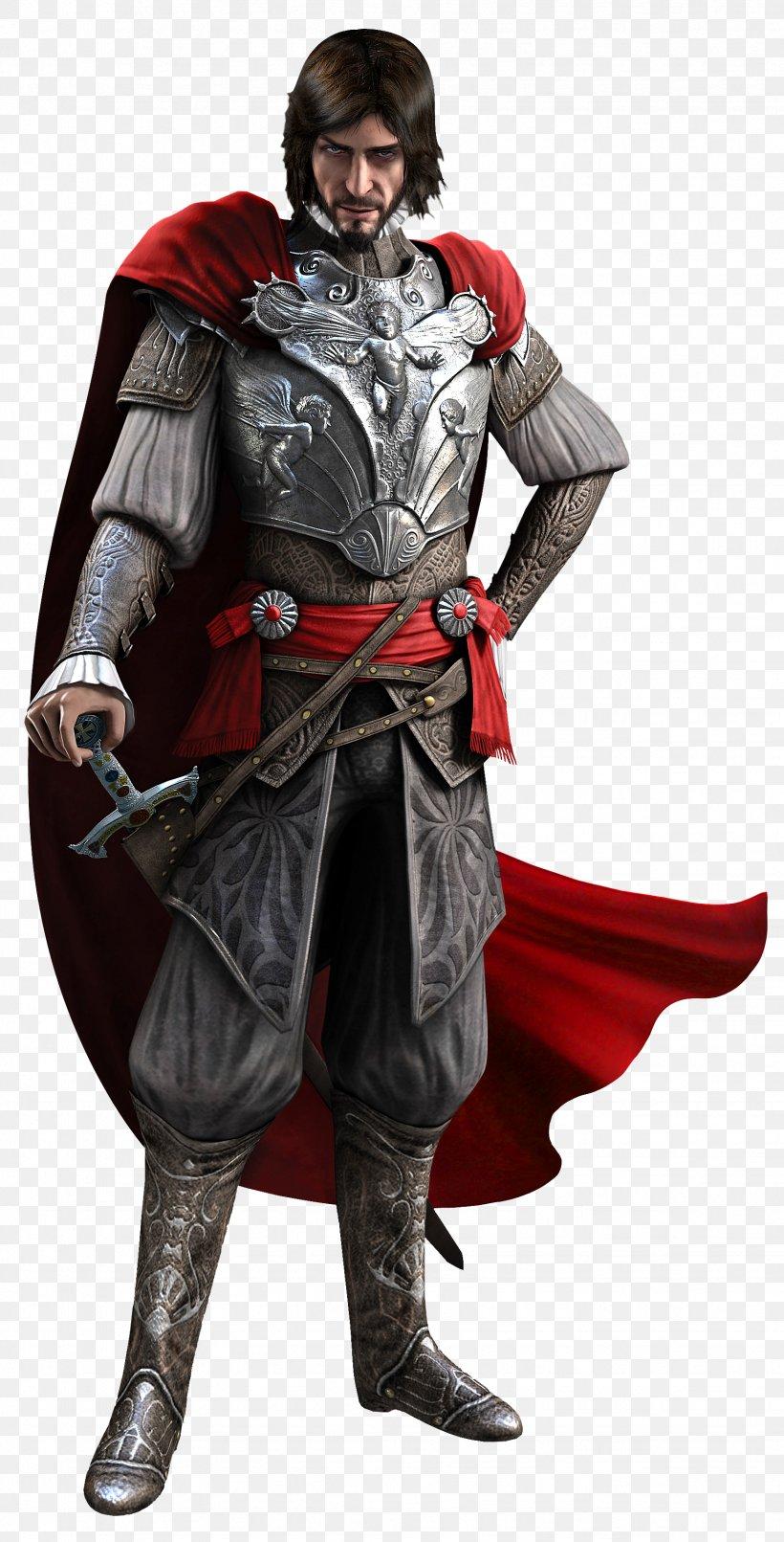Assassin's Creed: Brotherhood Assassin's Creed II Assassin's Creed: Ezio Trilogy Ezio Auditore, PNG, 1746x3432px, Assassin S Creed Ii, Armour, Assassin S Creed, Cesare Borgia, Costume Download Free
