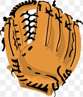 Cartoon Baseball Mitt - Baseball Glove Catcher Clip Art PNG