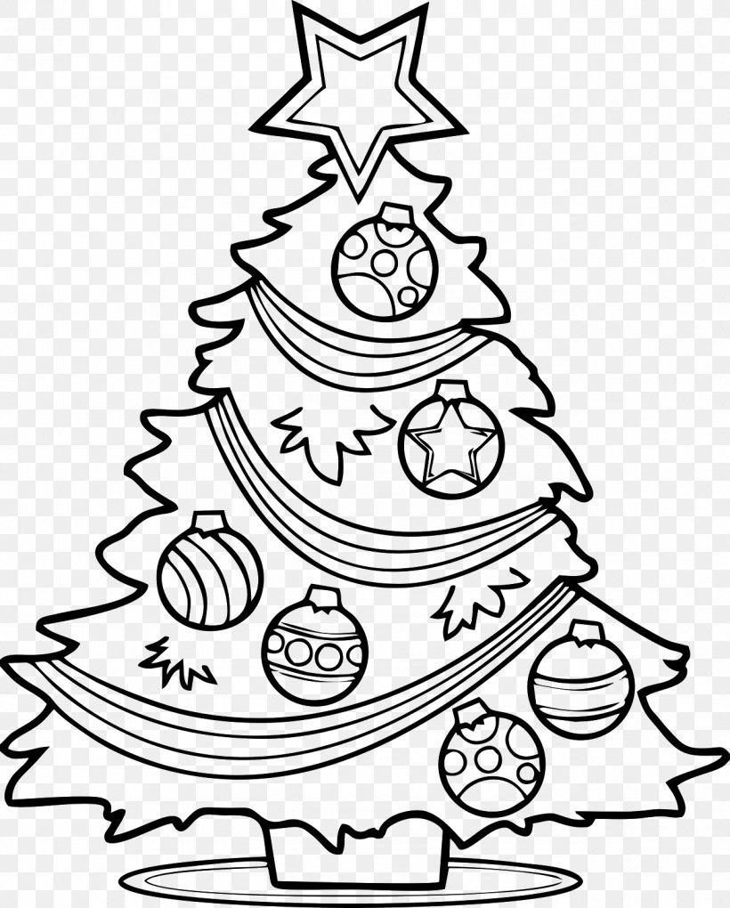Christmas Tree Santa Claus Drawing Clip Art Png