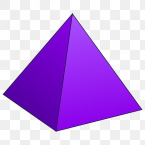 Pyramids Vector - Triangle Pyramid Shape Mathematics Geometry PNG