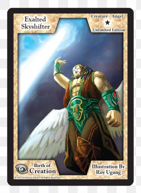 Sky Card - Collectible Card Game Playing Card Fiction PNG