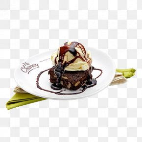 Ice Cream - Chocolate Ice Cream Chocolate Brownie Dame Blanche Chocolate Cake PNG