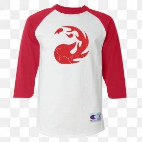 T-shirt - T-shirt Raglan Sleeve Champion PNG