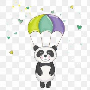 Cartoon Panda - Giant Panda Bear Baby Shower Clip Art PNG