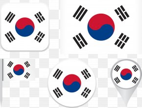 Korea Flag - Flag Of South Korea North Korea National Flag PNG